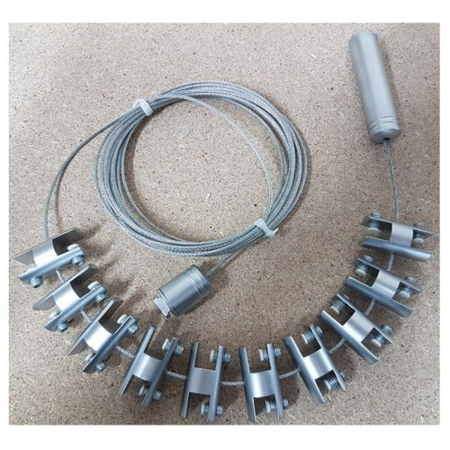 Cable with 10 connector-toggle