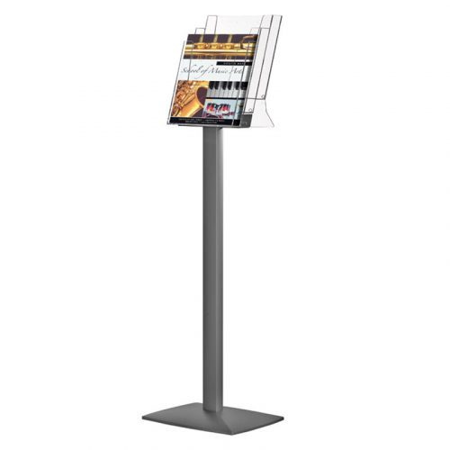 Pillar Leaflet Dispenser