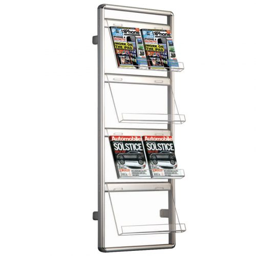Brochure Stand Wall Mounted