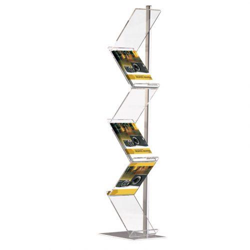 Zig-Zag Brochure Stand