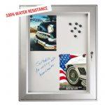 Magnetic Lockable Noticeboard