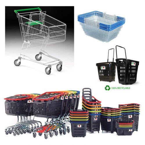 Trolleys & Baskets