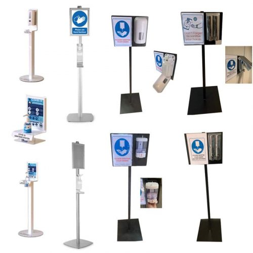 Sanitising Stations