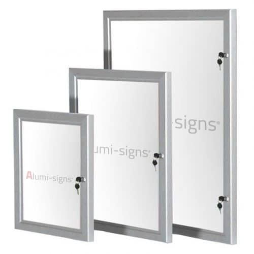 Lockable Poster Cases